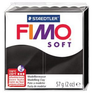 Steadtler FIMO Soft Polymer Clay 57g Black
