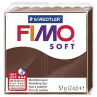 Steadtler FIMO Soft Polymer Clay 57g Chocolate