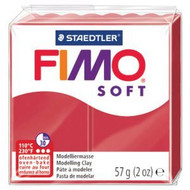Steadtler FIMO Soft Polymer Clay 57g Cherry Red