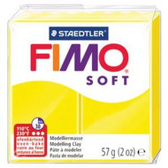 Steadtler FIMO Soft Polymer Clay 57g Lemon