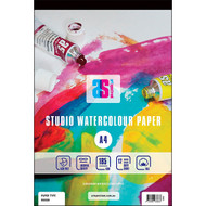 ART SPECTRUM STUDIO WATERCOLOUR PAD A5 185GSM ROUGH 12 SHEETS