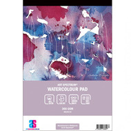 ART SPECTRUM 60% COTTON WATERCOLOUR PAD A4 300GSM ROUGH 12 SHEETS
