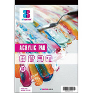 ART SPECTRUM ACRYLIC PAD A5 400GSM 12 SHEETS