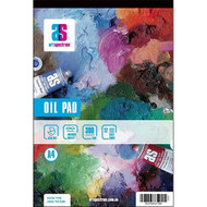 ART SPECTRUM OIL PAD A5 300GSM 12 SHEETS