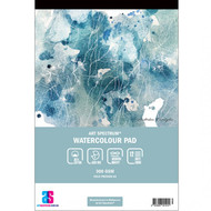 ART SPECTRUM 35% COTTON WATERCOLOUR PAD A4 - 300gsm - 12 sheets