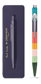849 PAUL SMITH Ballpoint pen with slim case DAMSON - Limited Edition | 849.639