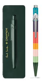 849 PAUL SMITH Ballpoint pen with slim case RACING GREEN- Limited Edition | 849.729