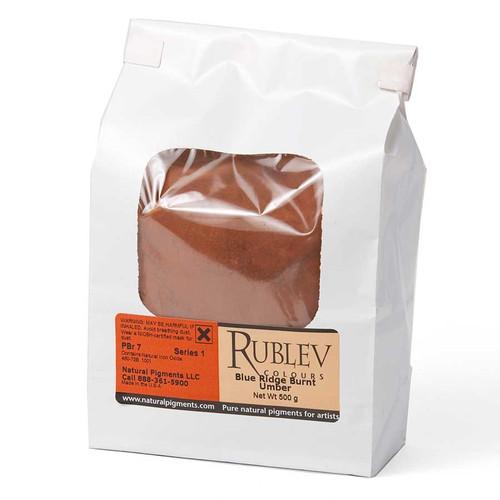 Rublev Colours Dry Pigments 100g - S1 Blue Ridge Burnt Umber