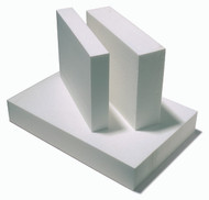 Polystyrene Foam Block White - 80mm x 600mm x 1250mm