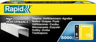Rapid Finewire Staples - 6mm - 5000 Box