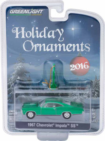 1:64 GreenLight 2016 2 of 6 Holiday Ornaments Series 1 - 1967 Chevy Impala SS