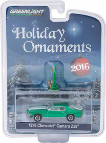 1:64 GreenLight 2016 6 of 6 Holiday Ornaments Series 1 - 1970½ Chevrolet Camaro Z/28
