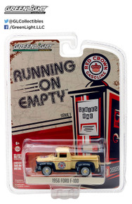 1:64 Running on Empty Series 1 - 1956 Ford F-100 - Red Crown Gasoline