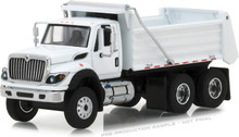 1:64 S.D. Trucks Series 4 - 2018 International WorkStar Construction Dump Truck - White