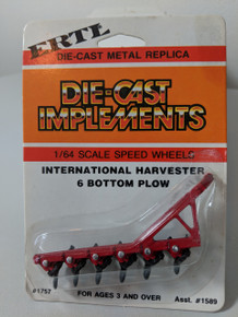 1:64 IH 6 Bottom Plow