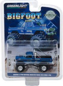 1:64 Bigfoot #1 The Original Monster Truck (1979) - 1974 Ford F-250 Monster Truck (Hobby Exclusive)