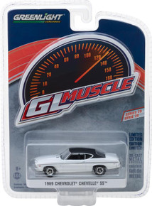 1:64 GreenLight Muscle Series 20 - 1969 Chevrolet Chevelle SS 396 - Dover White