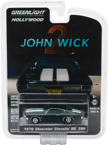 1:64 Hollywood - John Wick: Chapter 2 (2017) - 1970 Chevrolet Chevelle SS 396