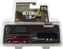 1:64 Hitch & Tow Series 14 - 2017 Ram 2500 and Double-Axle Dump Trailer