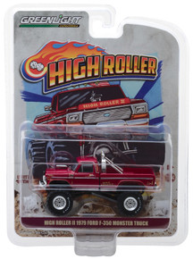 1:64  High Roller II 1979 Ford F-350 Monster Truck First Edition