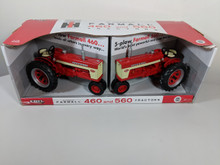 1:16 Farmall 460 and 560 2 Piece Tractor Set Collector Edition