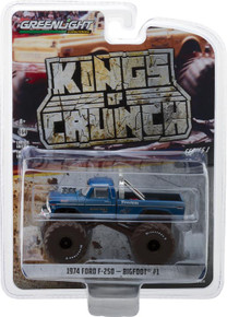 1:64 Kings of Crunch Series 1 - Bigfoot #1 - 1974 Ford F-250 Monster Truck (Dirty Version)