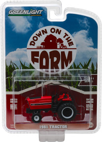 1:64 Down on the Farm Series 1 - 1981 Tractor - Red and Black