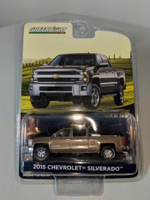 1:64 2015 Chevrolet Silverado in Brown with Tool Box