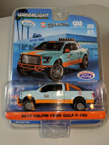 1:64 2016 Galpin Ford Gulf F-150 #68 in Gulf Colors