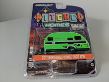 1:64 Hitched Homes Series 4 - 2017 Winnebago Winnie Drop 1710 - Green Machine