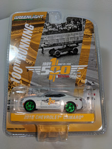 1:64 2016 Indianapolis 500 Pace Car - 2017 Chevrolet Camaro SS - 50th Anniversary Edition Green Machine