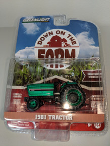 1:64 Down on the Farm Series 1 - 1981 IH 3488 Tractor - Red and Black Open station Green Machine
