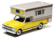 1:64 1970 Chevy C10 Cheyenne - with Large Camper (Hobby Exclusive)