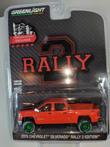 2015 Chevrolet Silverado Rally 2, Lifted, Green Machine