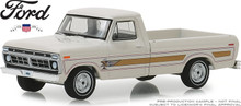 1:64 1976 Ford F-100 Bicentennial Option Group - Wimbledon White (Hobby Exclusive)