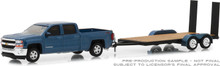 1:64 Hitch & Tow Series 15 - 2018 Chevrolet Silverado 1500 with Flatbed