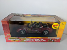1:18  2003 Corvette Indy 500 Pace Car,  American Muscle by Ertl RC2