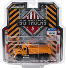 1:64 S.D. Trucks Series 5 - 2018 International WorkStar Construction Dump Truck - Orange