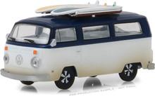1:64 1973 Volkswagen Type 2 (T2B) Van with Surf Boards (Hobby Exclusive)