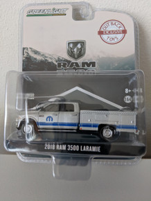 1:64 2018 Dodge Ram 3500 Dually, Laramie Service Truck,  with MOPAR Graphic