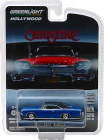 1:64 Hollywood Series 22 - Christine (1983) - Dennis Guilder's 1968 Dodge Charger In Blue