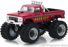1:64 Kings of Crunch Series 2 - Krimson Krusher - 1973 Ford F-250 Monster Truck