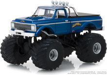 1:64 Kings of Crunch Series 2 - 1970 Chevrolet K-10 Monster Truck USA-1 (Heritage)