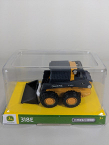 1:32 John Deere 318E Skid Steer Wheel Loader