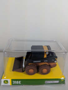 1:32 John Deere 318E Skid Steer Wheel Loader, Dirty Version