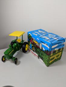 1:16 John Deere 4010 WF Diesel Tractor w/ROPS, 1993 Toy Farmer Nat'l Farm Toy Show Edition