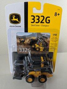 1:50 John Deere 332G Skid Steer Wheel Loader