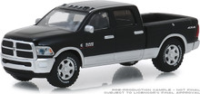 1:64 2018 Ram 2500 Big Horn - Harvest Edition - Brilliant Black and Bright Silver (Hobby Exclusive)