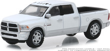 1:64 2018 Ram 2500 Big Horn - Harvest Edition - Bright White and Bright Silver (Hobby Exclusive)