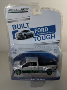1:64 Anniversary Collection Series 7 - 2019 Ford F-350 Lariat Dually Ford Trucks 100 Years Green Machine